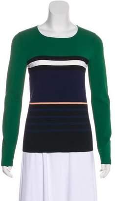 Cédric Charlier Striped Long Sleeve Top