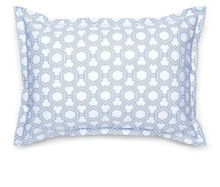 Light Blue Standard Newport Sham - Set of 2