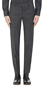Barneys New York Men's Yellnik Wool Slim-Fit Trousers - Charcoal