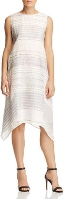Lafayette 148 New York Romona Striped Dress $498 thestylecure.com