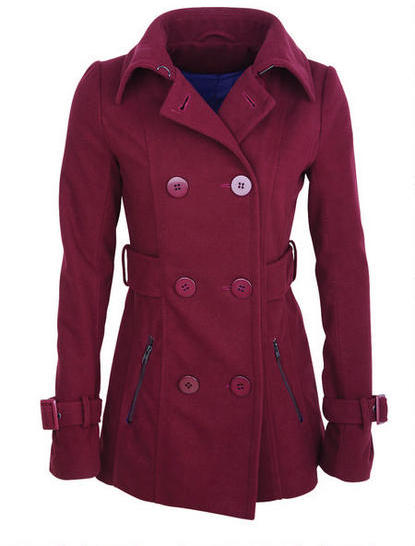 Delia's Zip Pocket Peacoat