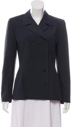 Calvin Klein Collection Wool Double-Breasted Blazer
