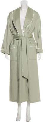 Daniel Hanson Wool-Angora Blend Bathrobe wool Wool-Angora Blend Bathrobe