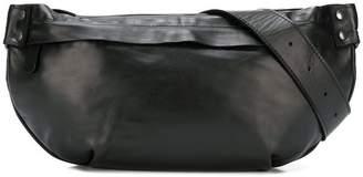 Yohji Yamamoto shoulder fastened purse