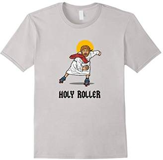 Holy Roller T-Shirt - Jesus Roller Skates Skating