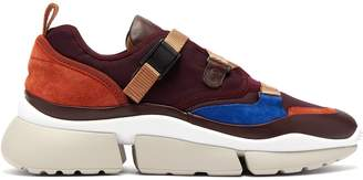 Chloé Sonnie raised-sole low-top trainers