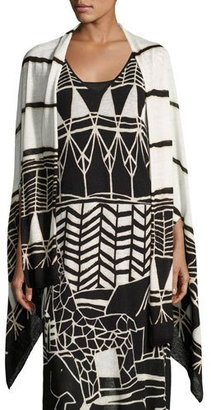 NIC+ZOE Wild Things Graphic-Print Shrug $128 thestylecure.com