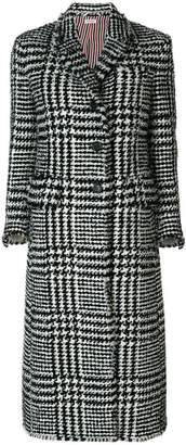 Thom Browne Prince Of Wales Overcoat