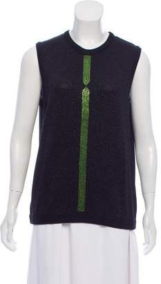 Gianni Versace Sleeveless Knit Sweater