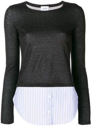 Dondup contrast-shirt sweater