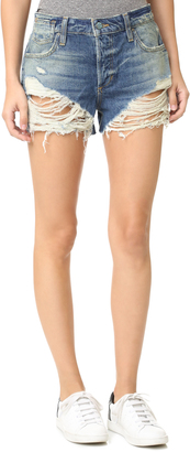Joe's Jeans Collector's Edition Charlie High Rise Shorts $148 thestylecure.com