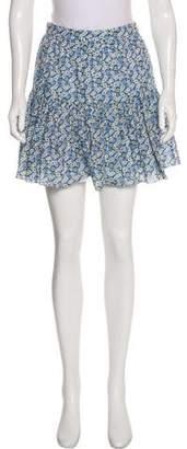 Saint Laurent A-Line Mini Skirt