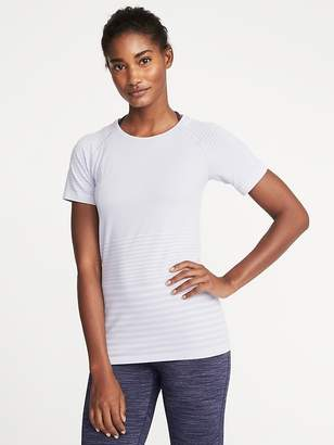 Old Navy Seamless Melange-Stripe Top for Women