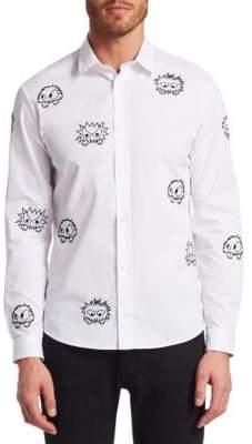 McQ Sheehan Monster Button-Down Shirt