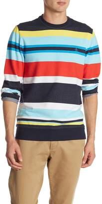 Original Penguin Engineered Stripe Print Sweater