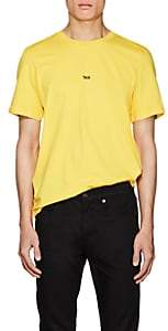 "Helmut Lang Men's ""Taxi"" Cotton T-Shirt - Yellow"