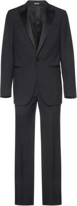 Lanvin Satin-Trimmed Wool Tuxedo