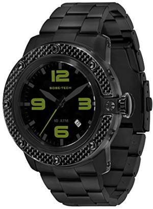 Glam Rock Men's GR33006 SoBe Dial Ion-Plated Stainless Steel Watch