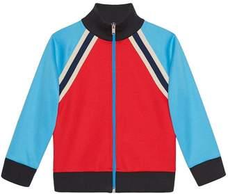 Gucci Kids Children's technical jersey sweatshirt
