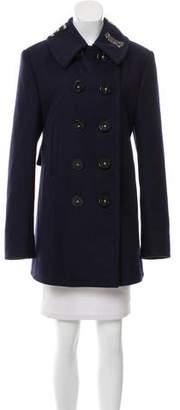 Dolce & Gabbana Double-Breasted Embellished Coat