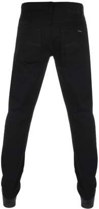 Nudie Jeans Dude Dan Regular Fit Jeans Dry Black