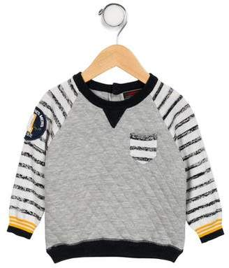 Catimini Boys' Contrasted Quilted Sweater