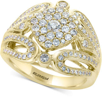 Effy D'Oro by Diamond Cluster Ring (1 ct. t.w.) in 14k Gold
