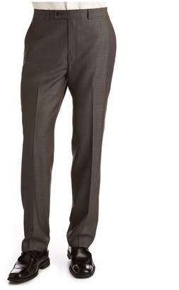 Calvin Klein Charcoal Modern Fit Wool Suit Separate Pants