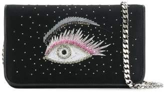 Les Petits Joueurs embellished eye clutch