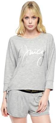 Juicy Couture Signature Crop Pullover