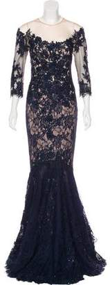 Mandalay Embellished Evening Dress