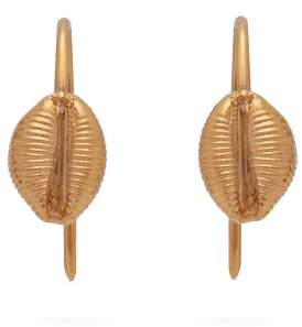 Isabel Marant Shell Earrings - Womens - Gold