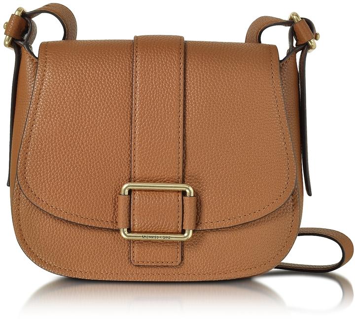 MICHAEL Michael KorsMichael Kors Maxine Large Luggage Leather Saddle Bag