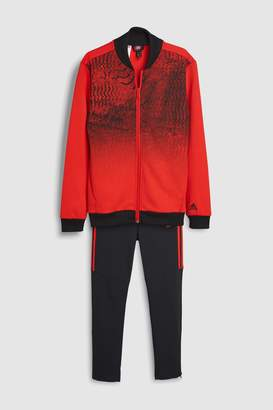 63c3ef1a660d at Next · Next Boys adidas Predator Red Tracksuit