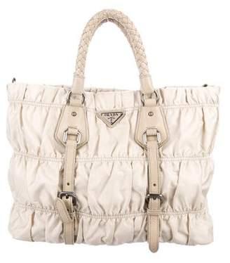 Prada Nylon Satchel Bag