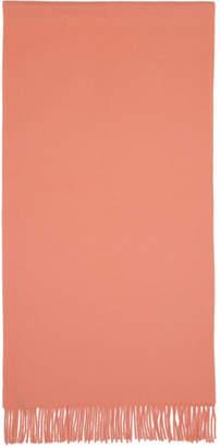 Acne Studios Pink NR New Canada Scarf