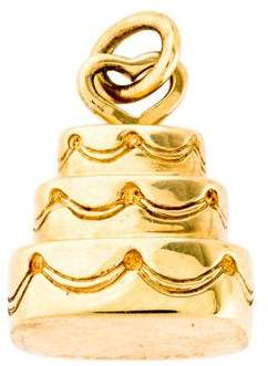 Tiffany & Co. 18K Cake Charm