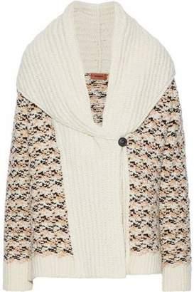 Missoni Crochet-Knit Wool-Blend Cardigan