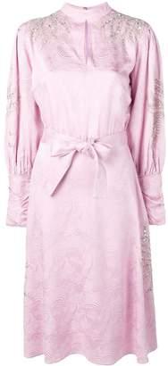 Dodo Bar Or long-sleeve flared dress