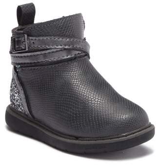 Step & Stride Harper Snake Embossed Faux Leather Boot (Toddler & Little Kid)
