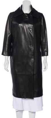 Kaufman Franco KAUFMANFRANCO Long Leather Coat