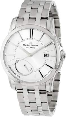 Maurice Lacroix Men's PT6168-SS002131 Pontos Silver Power Reserve Indicator Dial Watch