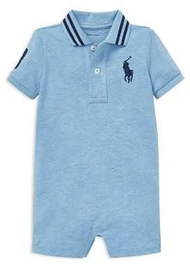 Ralph Lauren Boys' Cotton Mesh Polo Shortall - Baby
