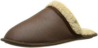 Dockers 'Shawn' Easy-On, Easy-Off Scuff Slipper in Aviator Faux-Leather