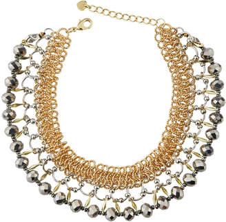 Nakamol Multilink & Crystal Choker Necklace