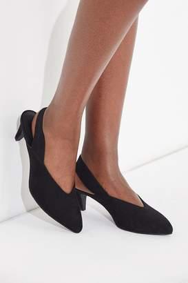 BC Footwear Slingback Kitten Heel