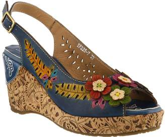 Spring Step L'Artiste by Leather Sandals - Tuttifrutti