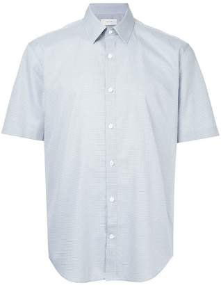 Cerruti short sleeve gingham shirt