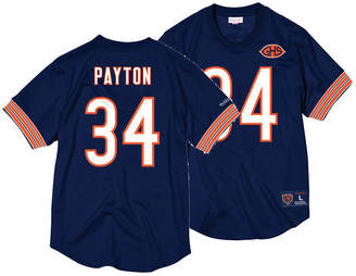 Mitchell & Ness Men Walter Payton Chicago Bears Mesh Name and Number Crewneck Jersey