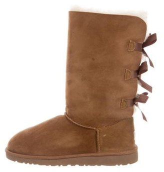 UGG Australia Bailey Bow Boots $105 thestylecure.com